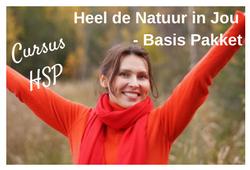 Marieke op het Strand, HSP, Den Haag, Marieke Verkerk, Heel de natuur in jou, cursus